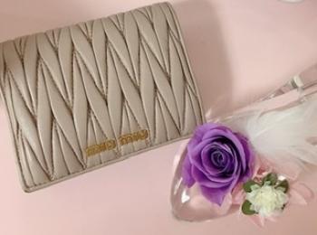 【20代女子の愛用財布】miu miuのミニ財布♡♡
