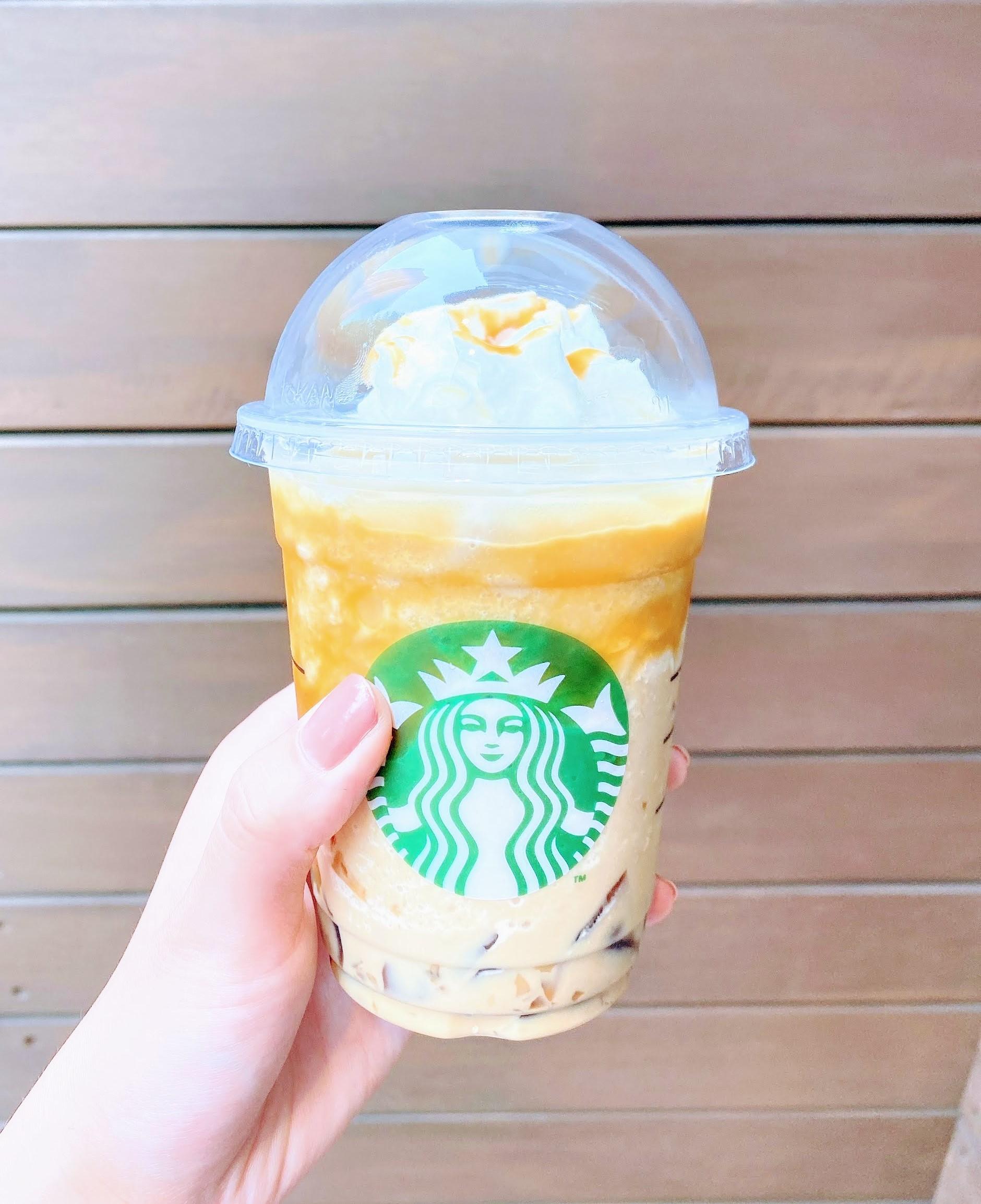 【スタバ】東京限定フラペチーノはコーヒーのほろ苦さとキャラメルの甘さが絶妙な大人の味◝(⑅•ᴗ•⑅)◜..°♡_1
