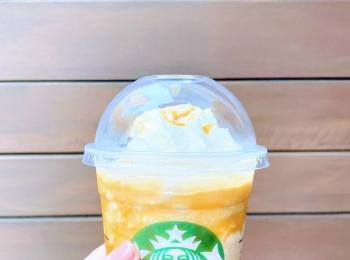 【スタバ】東京限定フラペチーノはコーヒーのほろ苦さとキャラメルの甘さが絶妙な大人の味◝(⑅•ᴗ•⑅)◜..°♡