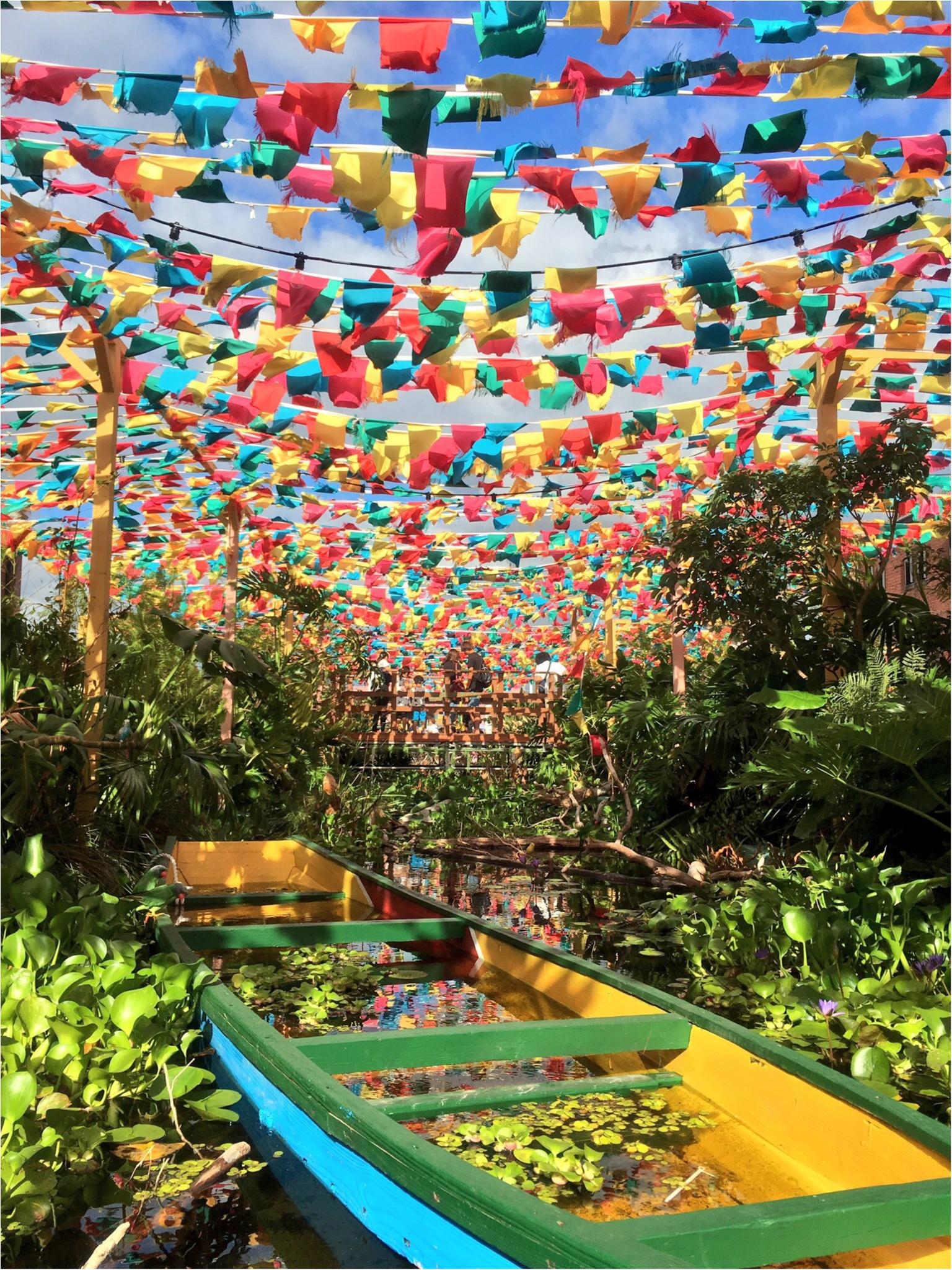 みなとみらい♡赤レンガにアマゾン川が出現…!?見ても楽しい♪食べても楽しい♪『RED BRICK Paradise』の写真たくさんレポ(*´ ˘ `*)!_3