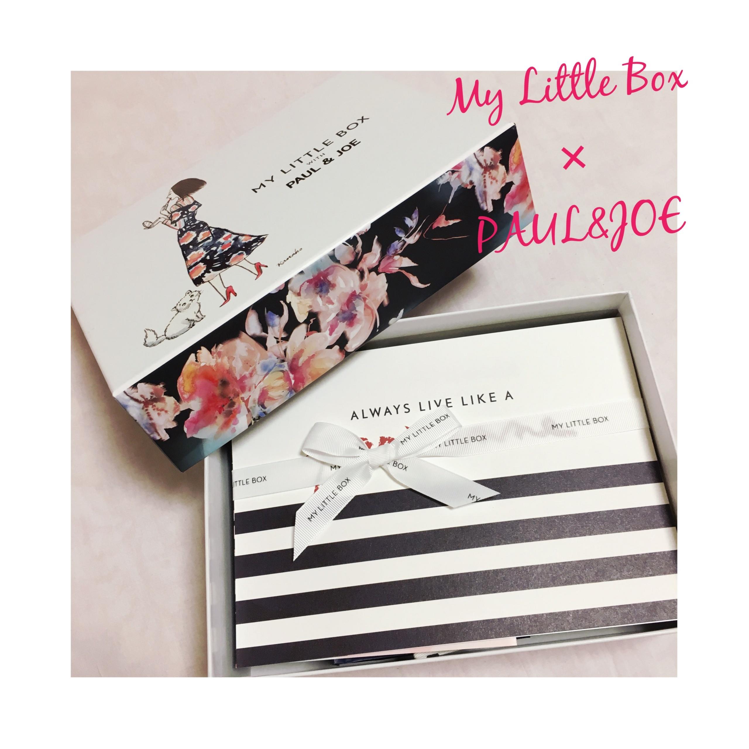 《既日完売の予感⁈❤️》【My Little Box】8月はPAUL&JOEとのコラボ♡ひと足お先にgetしました‼︎_6
