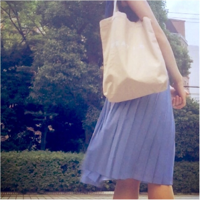 【MORE7月号】今月号の付録*フレイアイディーのピンクベージュトートを持ってお出かけ♡_4