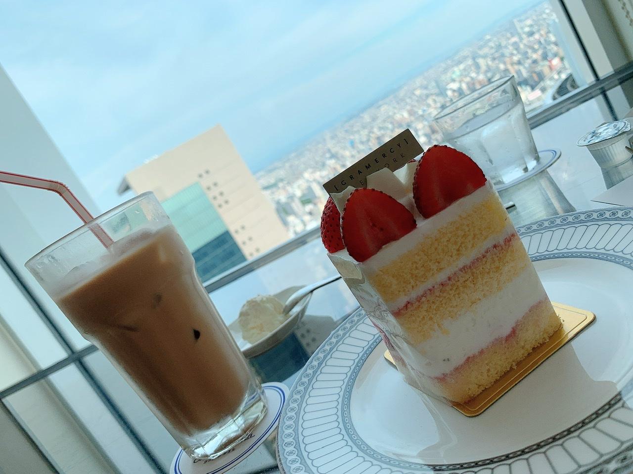 【名古屋一景色の良いcafe:カフェ ド シエル】in高島屋の51階_3