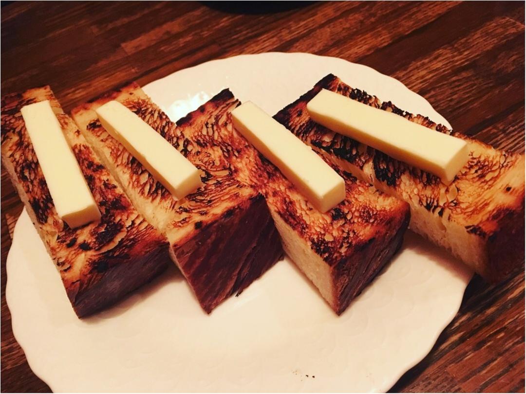 焼き鳥屋さんででてくる〆の炭火焼きトーストonカルピスバターに惚れた_6