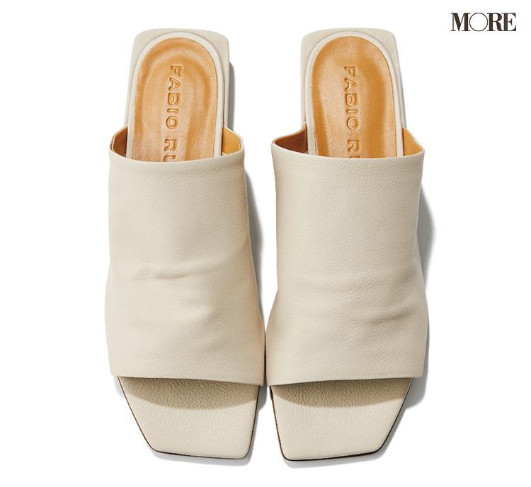 スタイリスト松村さんの春のお買い物計画の靴