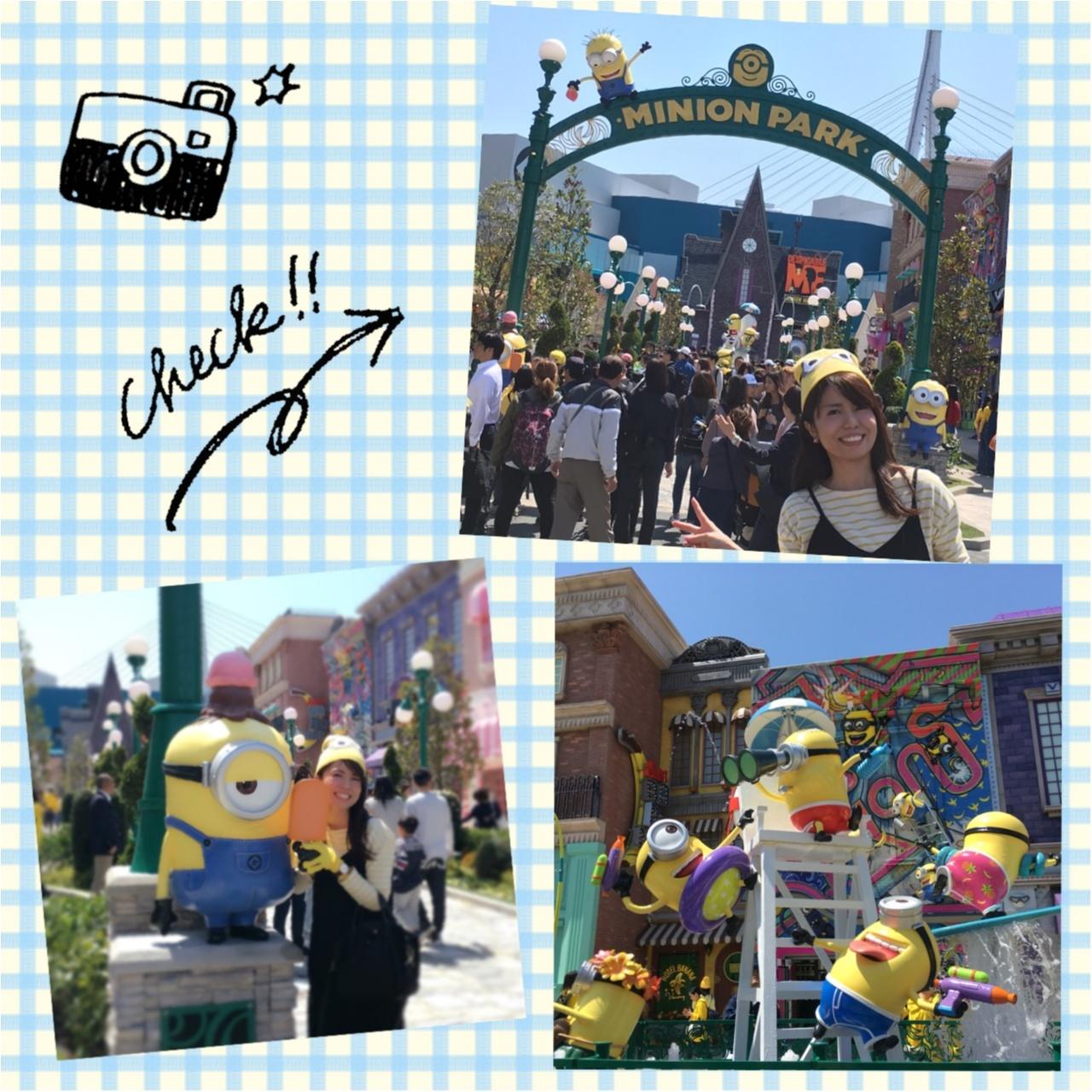 <4/21グランドオープン!>世界最大のハチャメチャエリア♡USJミニオン・パークに行ってきました!♡_2