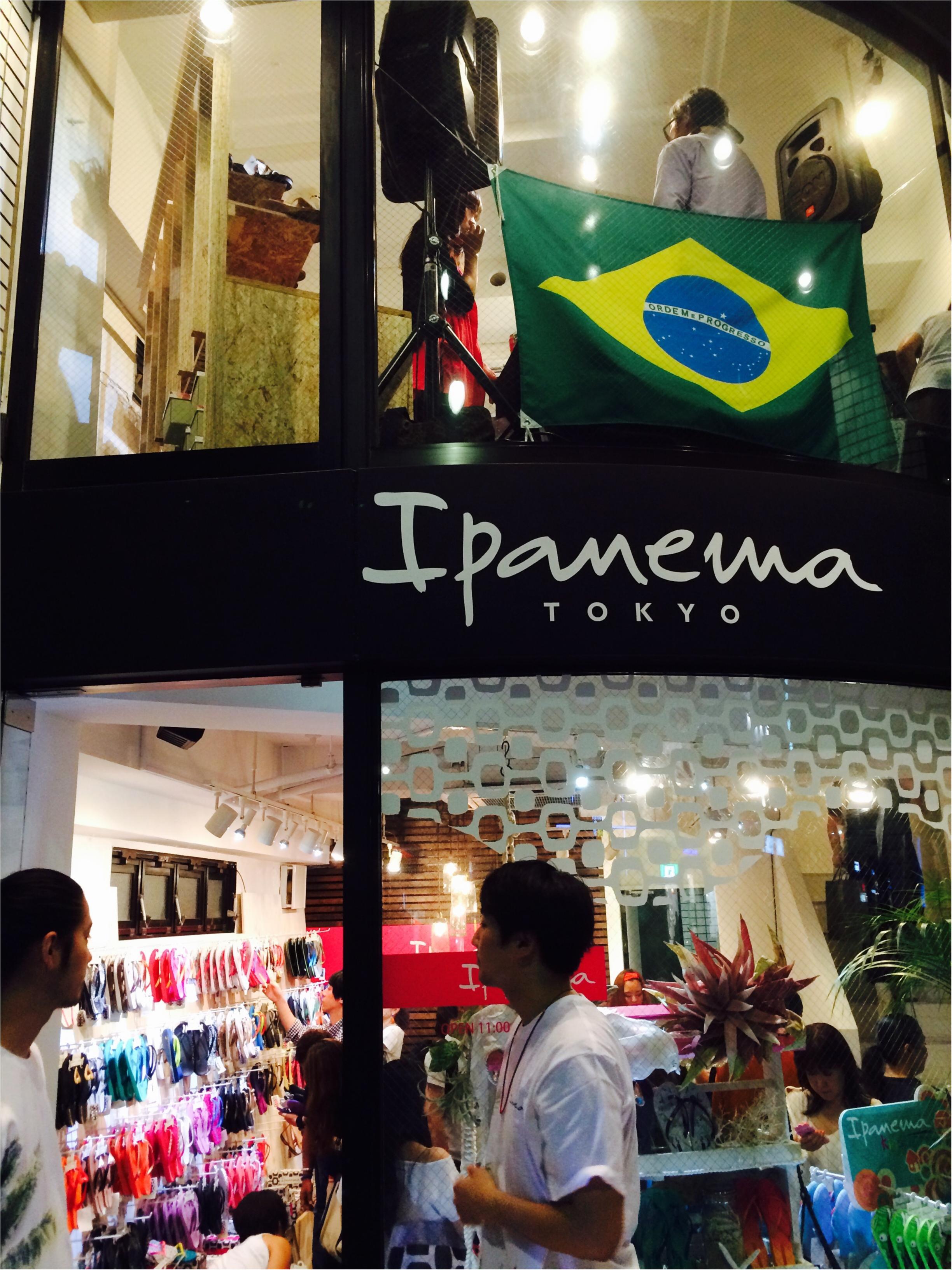 ブラジル発ビーチサンダルブランド『Ipanema』のハッピーなレセプションパーティーに潜入♡_1