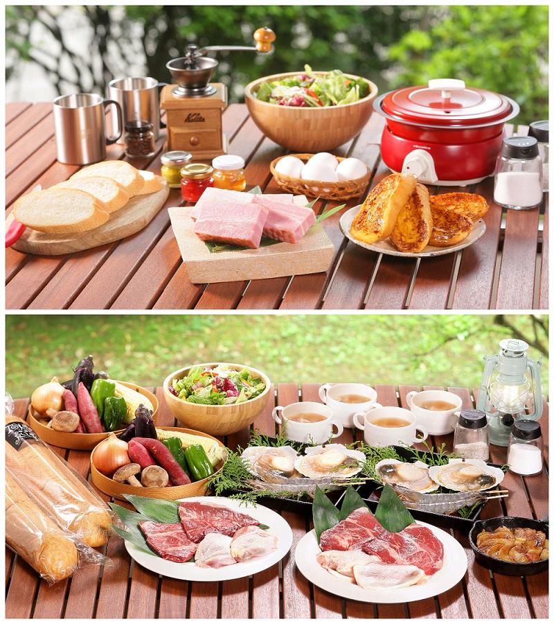 『UFUFU VILLAGE』の朝食と夕食のイメージ