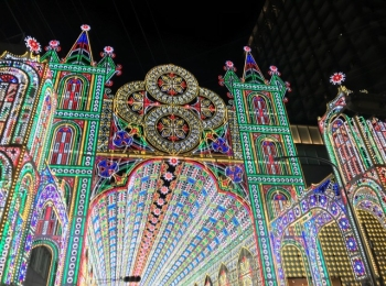 12/16 本日まで!《神戸ルミナリエ》のイルミネーションが芸術的で美しい♡