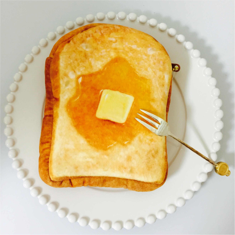 厚切りはちみつトーストにしか見えない!本物そっくりふわふわポーチ♡_1