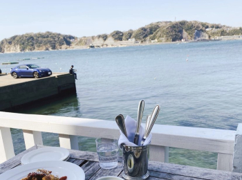 【品川から50分】葉山日帰り女子旅 海沿いテラスで贅沢フレンチ