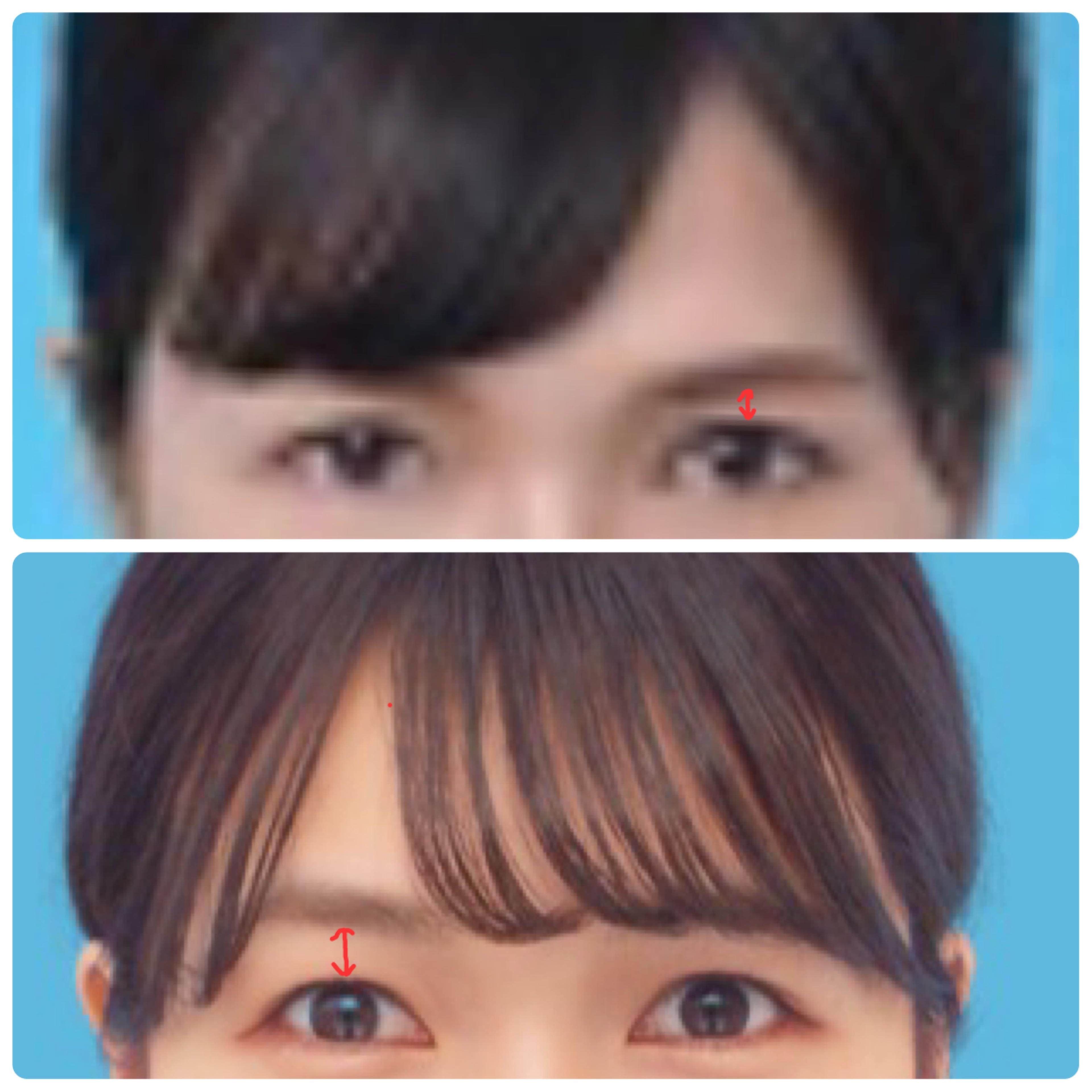 【印象違いすぎ⁉︎】証明写真で見るお顔の変化の理由_2