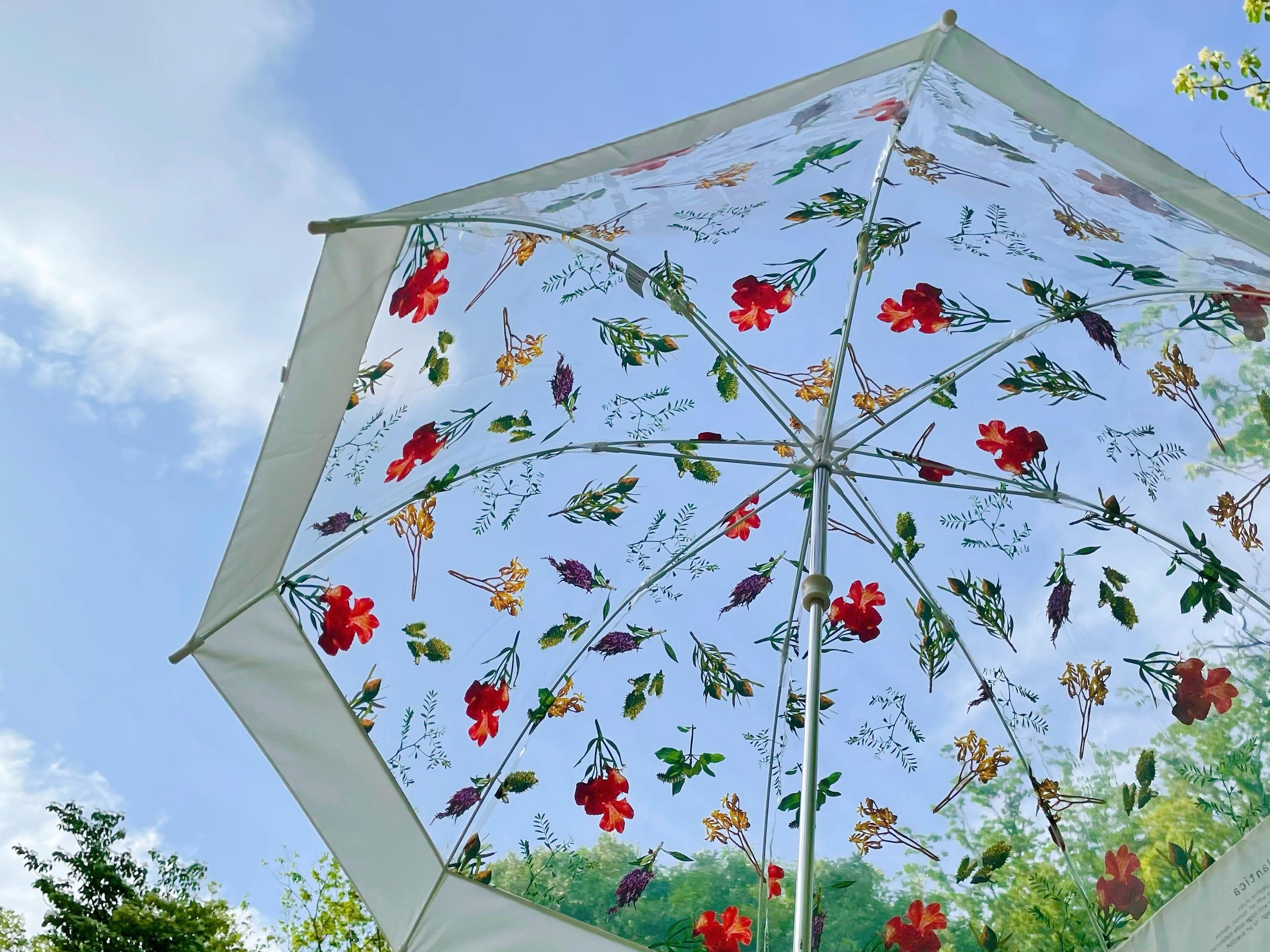 【雨空に花が咲く!?】《フラワーアートとコラボした傘》がおすすめ♡_3