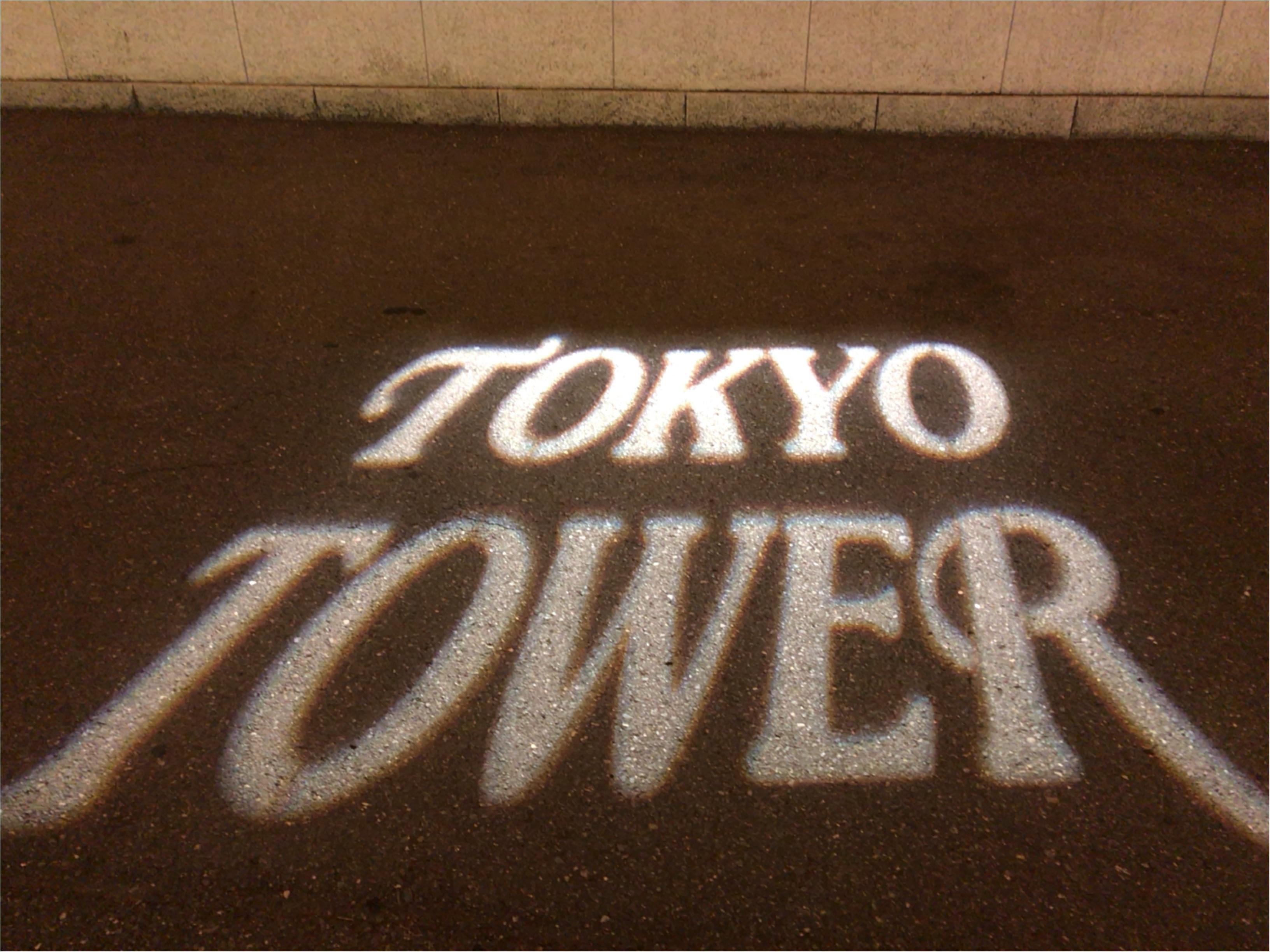 東京散歩~東京タワーのプロジェクションマッピング_6