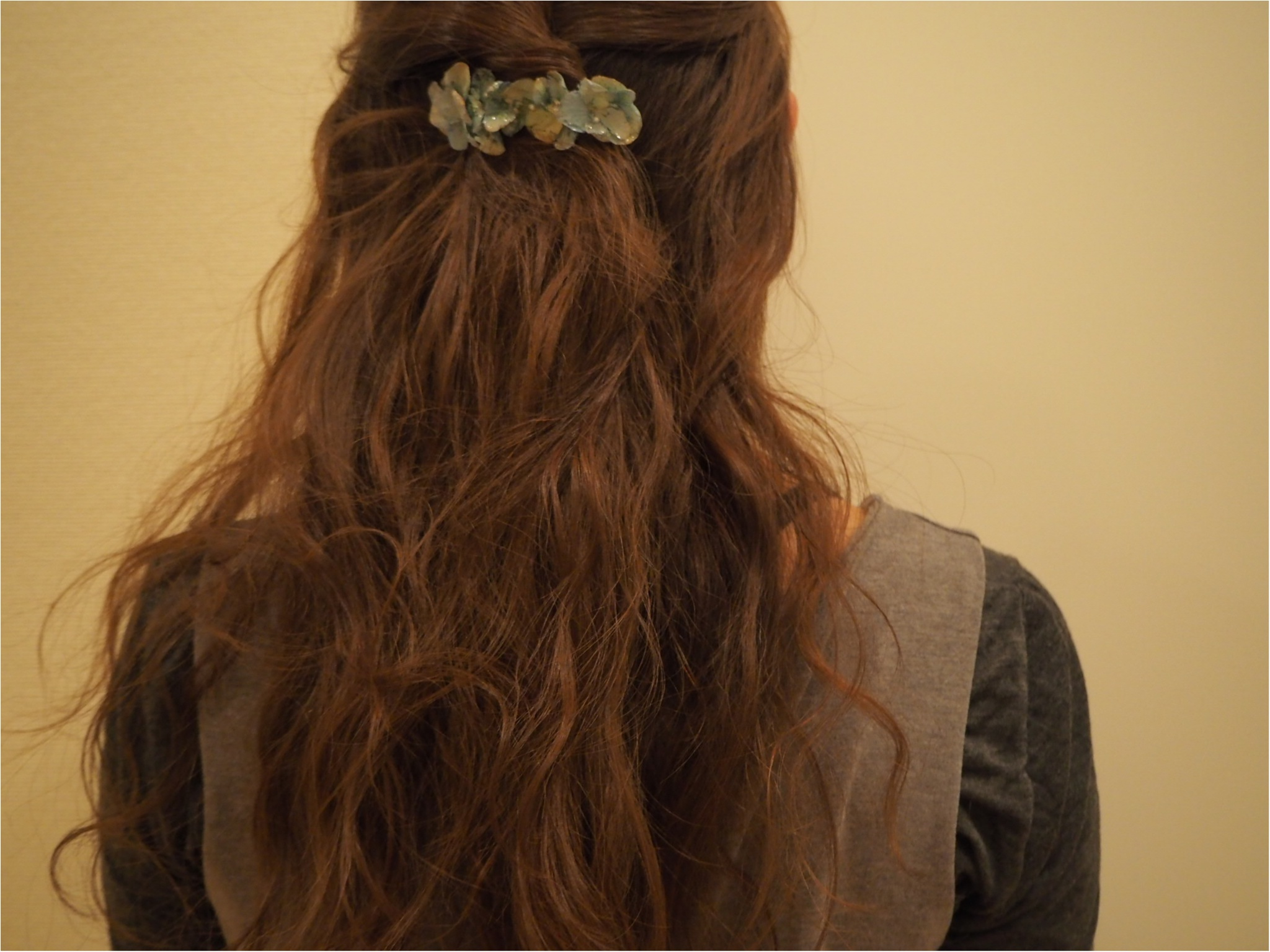 【ハンドメイド部】UVレジンを使って結婚式でいただいたお花を『ドライフラワーアクセサリー』にしてみました。_10