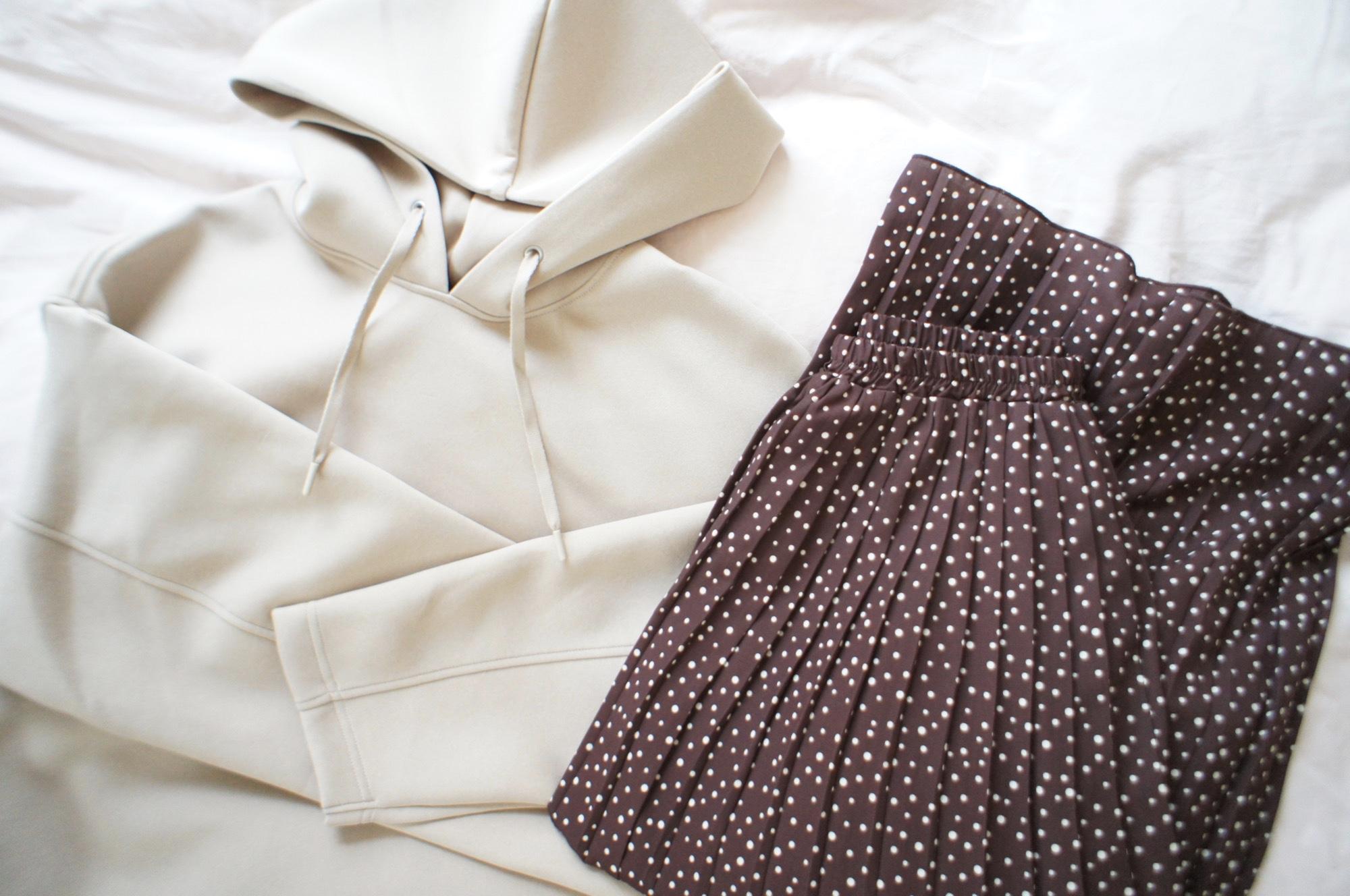 #ユニジョ の私が解説!《昨年大流行❤️》【ユニクロ】ドライソフトスウェットプルパーカを今年っぽく着る方法☝︎_1