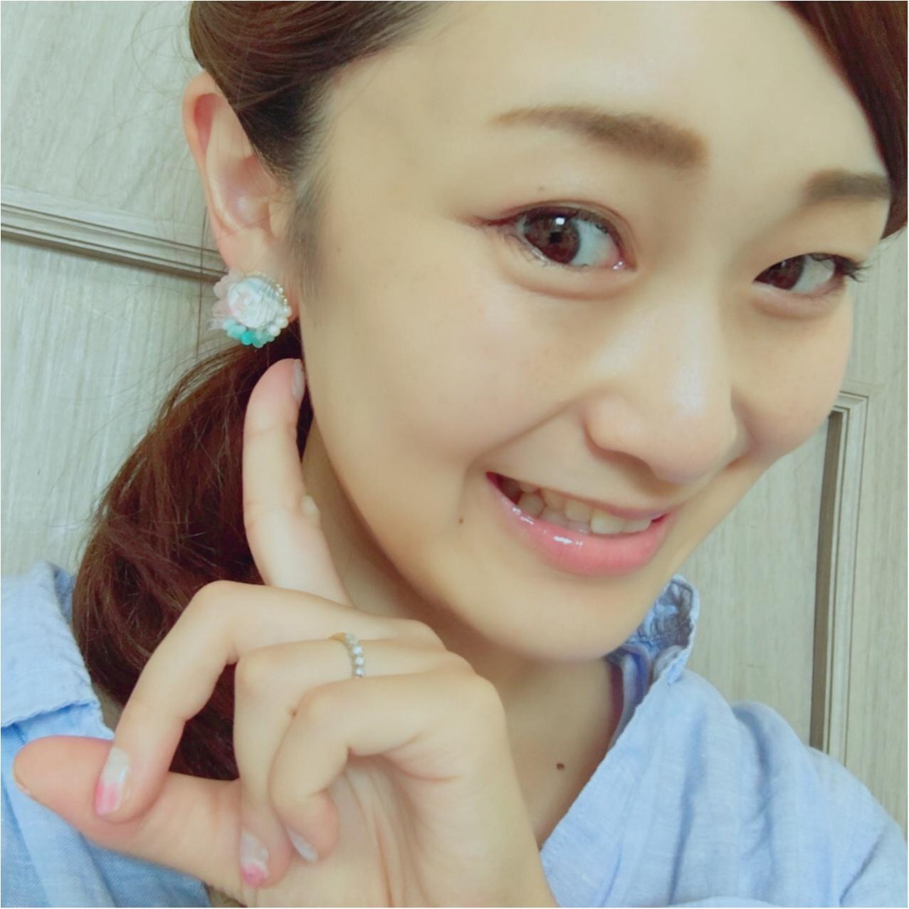 【レシピ公開】もうすぐ梅雨明け!夏にぴったりなハンドメイドのクリアイヤリング♡_5