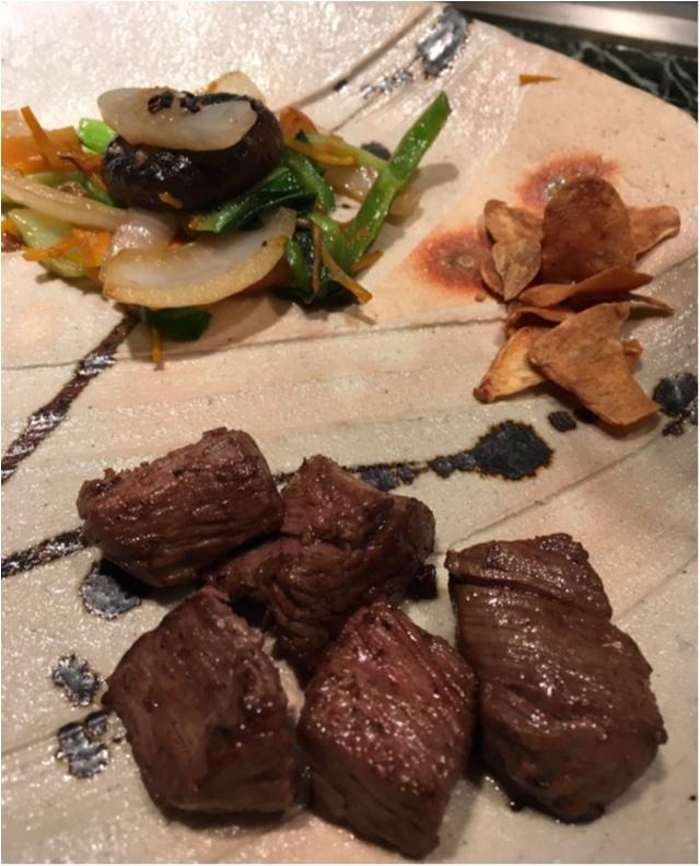 記念日にぜひ❤️シェフが目の前で焼いてくれる夢の鉄板焼フルコース!♡鮑にフォアグラに贅沢ディナー。_12