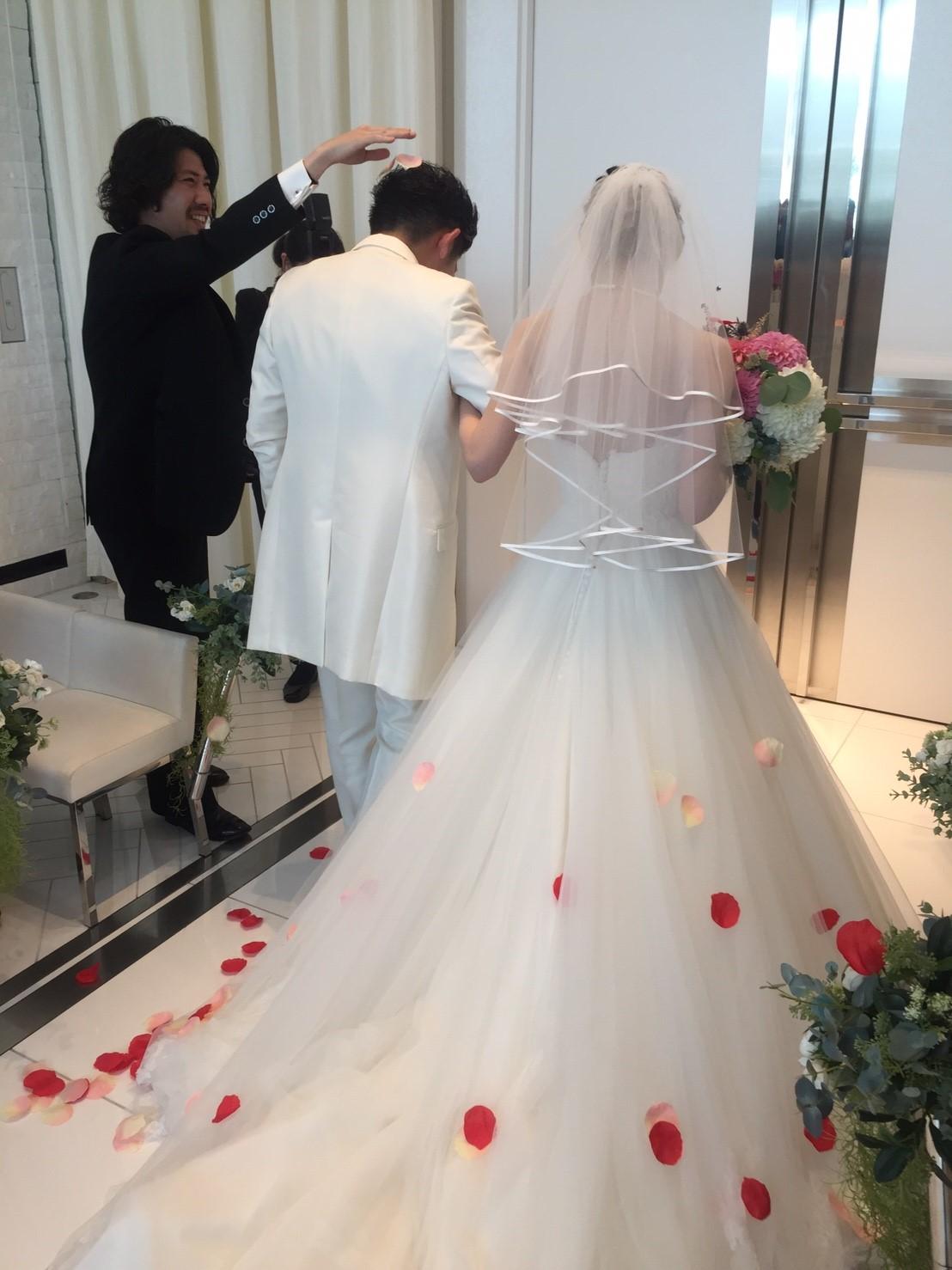2019年5月12日《母の日》に結婚式を挙げました!_1