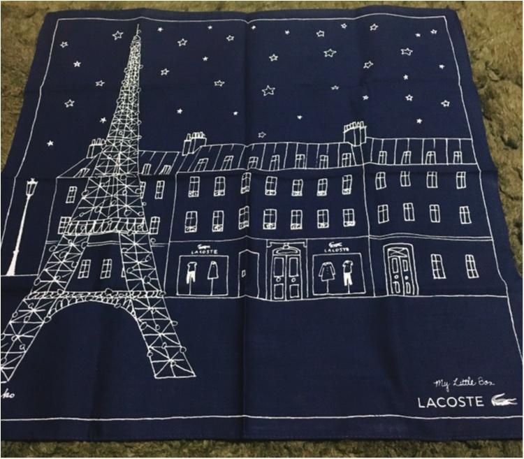 《今月のパリからの贈り物♡》ラコステやアナスイとのコラボ商品が満載♡_4