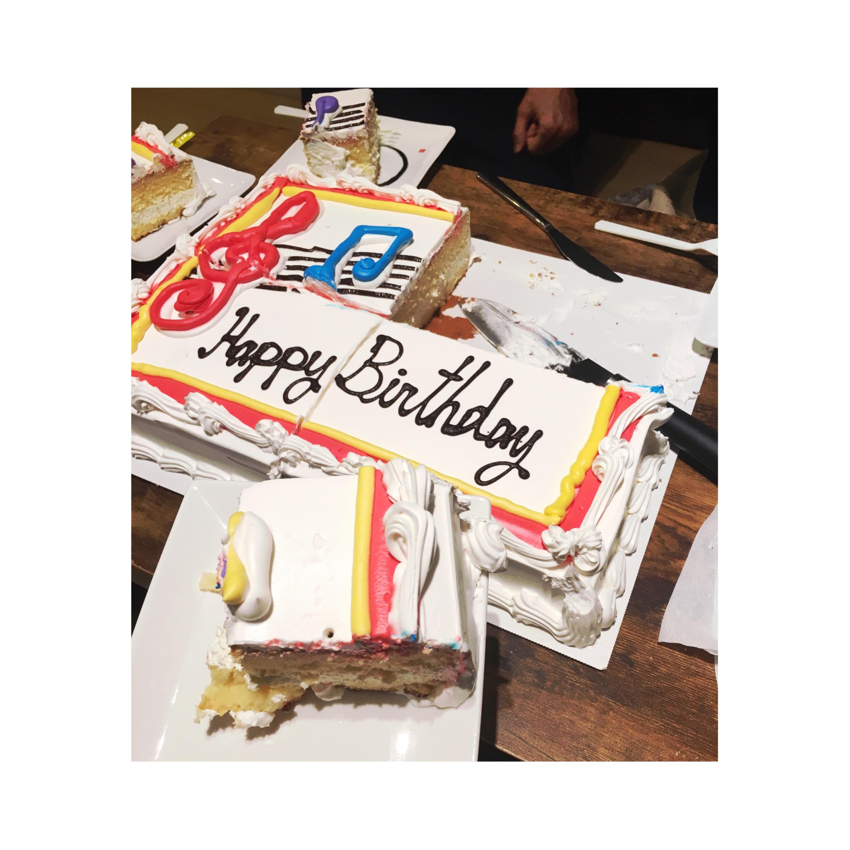 《インパクト大!★》【コストコ】の特大ケーキで誕生日のお祝いをしました❤️_5