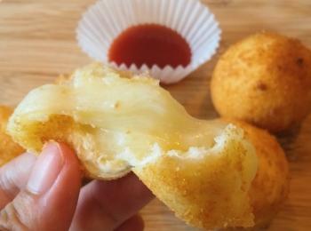 《人気の韓国グルメが自宅で手軽に》もちもちとろ~んがクセになるチーズボール