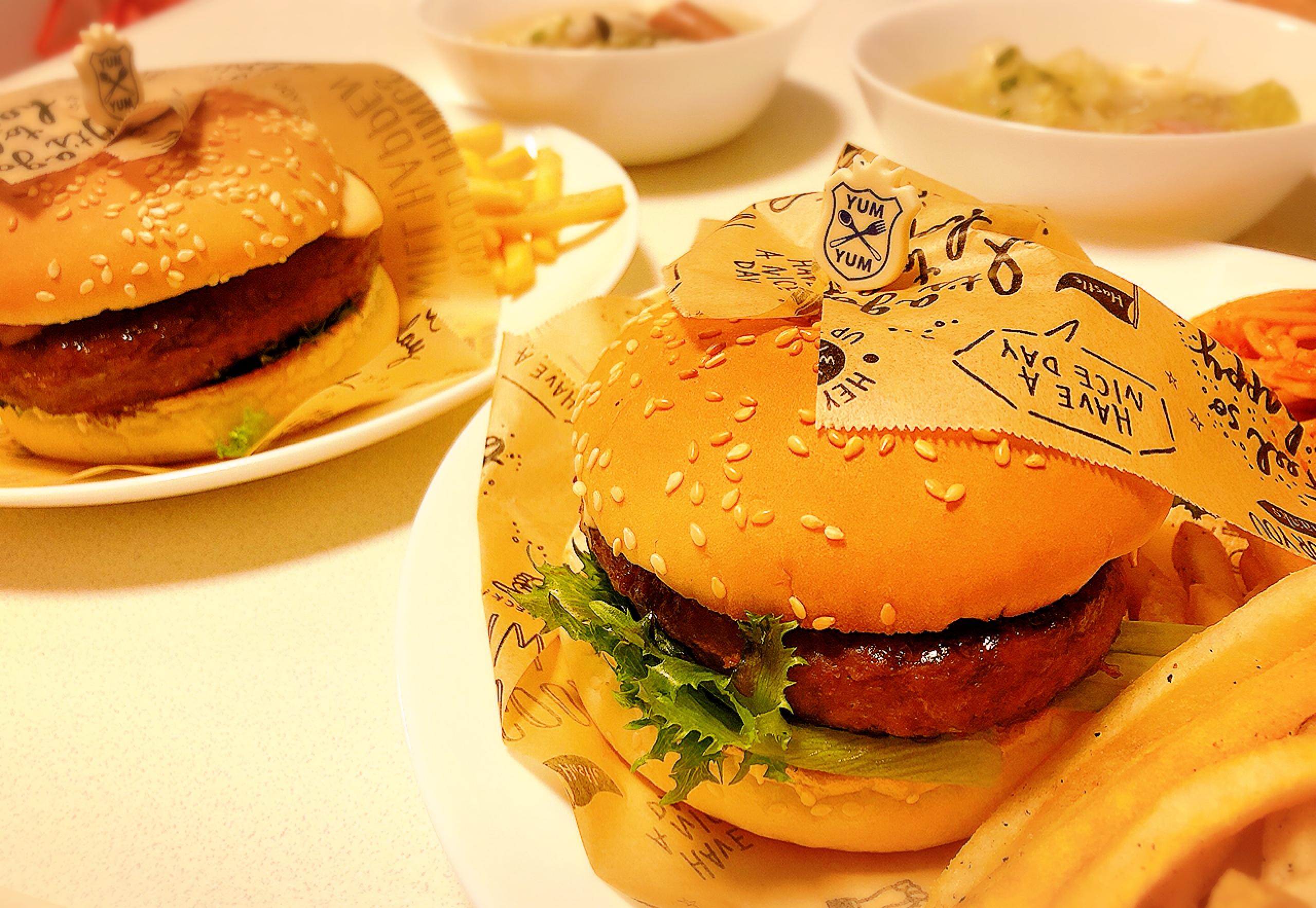 【おうちでハンバーガー】がっつり食べたい日はおうちで簡単テリヤキバーガー♩パーティーにも◎_3