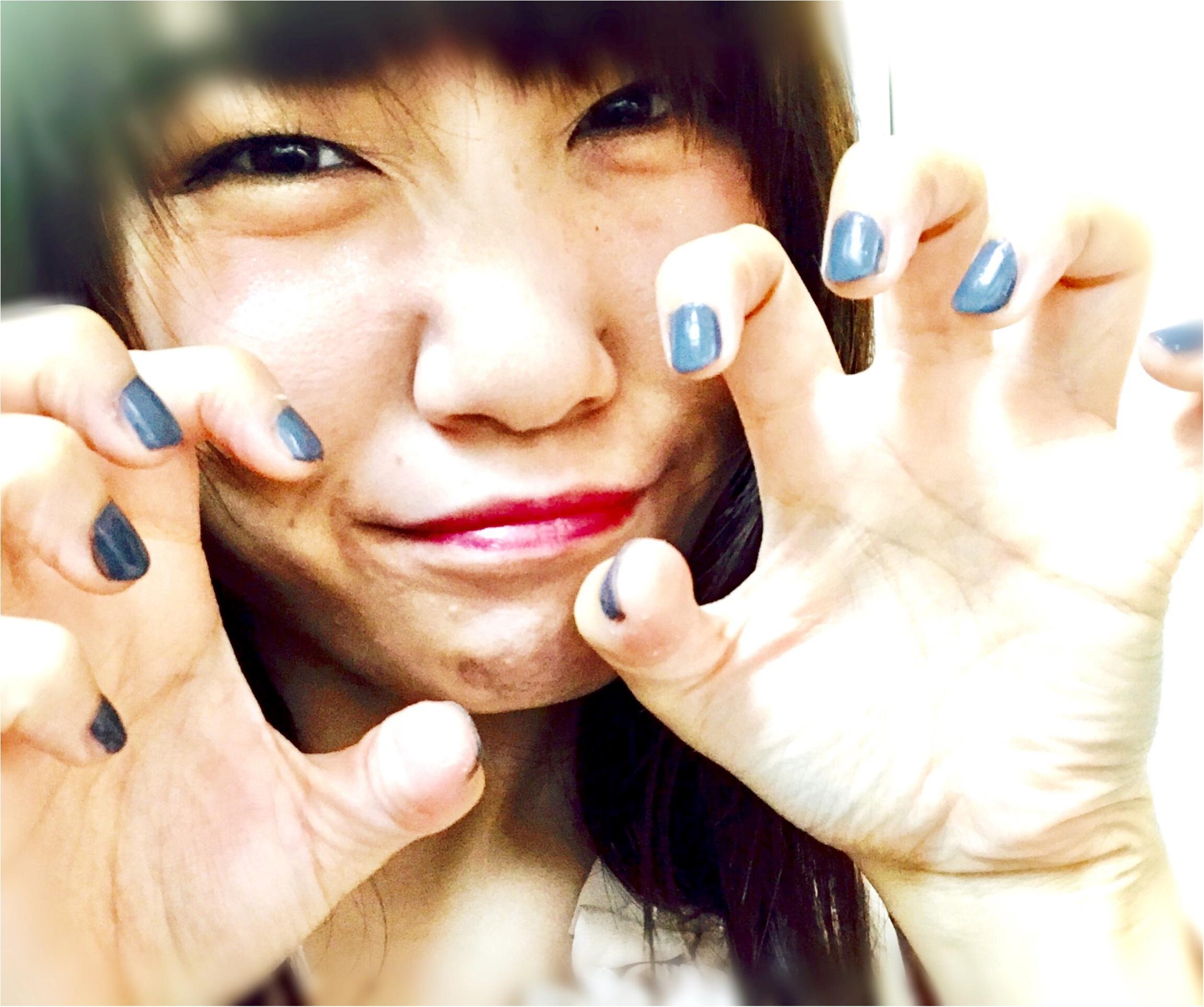 【秋ネイル】YSLのグレーでこっくりセルフネイルが可愛い♡♡♡_6