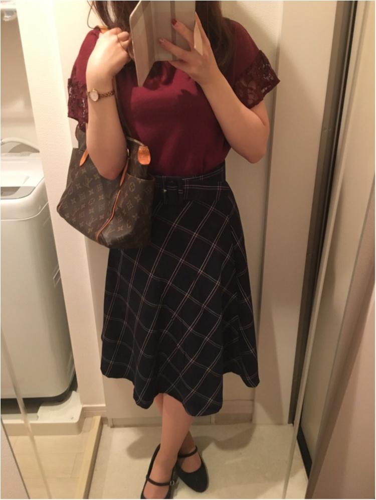 今年の流行!♥ミディ丈スカートで作る♡通勤コーデ4選(っ´ω`c)♡_6