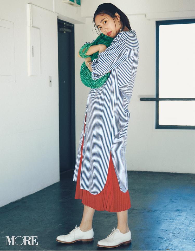 プリーツスカートコーデ特集《2019年春夏》- 20代におすすめのプリーツ・ロングスカートまとめ_20