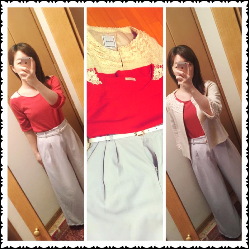 なりたい私に着替えよう【赤】を取り入れたオフィスコーデに挑戦!_6