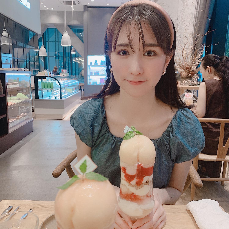 【FRUiT hanafru 】桃しか勝たん♡可愛すぎる山梨県桃のまるごとパフェレビュー_2