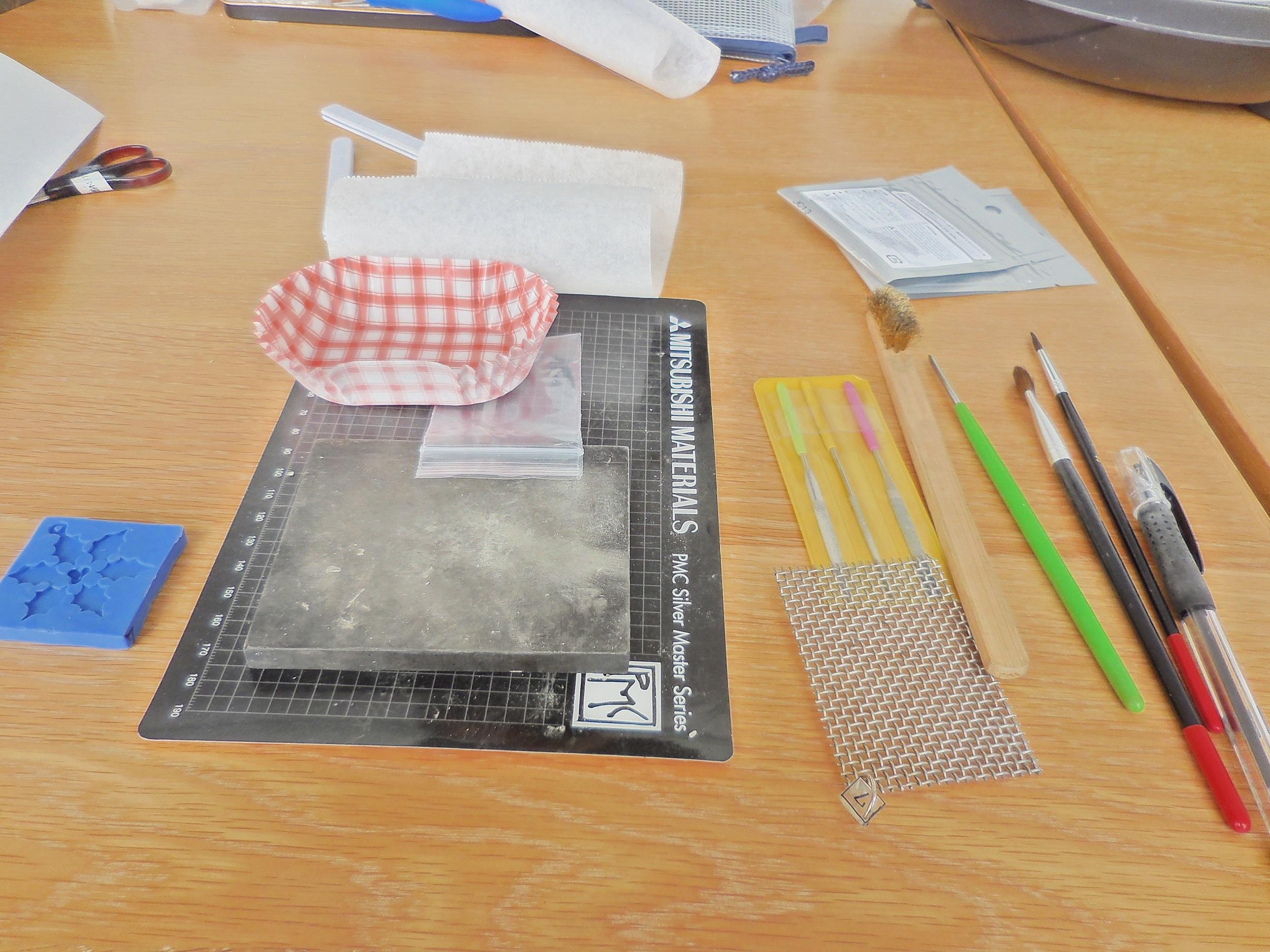 【ケユカ】純銀粘土で作るペンダントのワークショップに行ってきました。_1