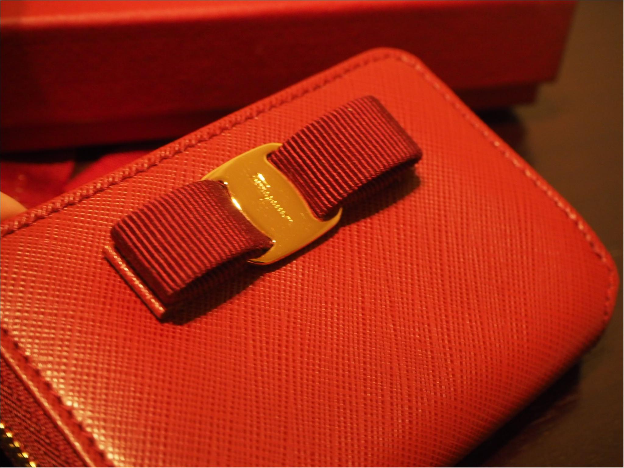 自分へのご褒美は「Salvtore Ferragamo(サルヴァトーレフェラガモ)」のミニ財布をお迎えしました!_3