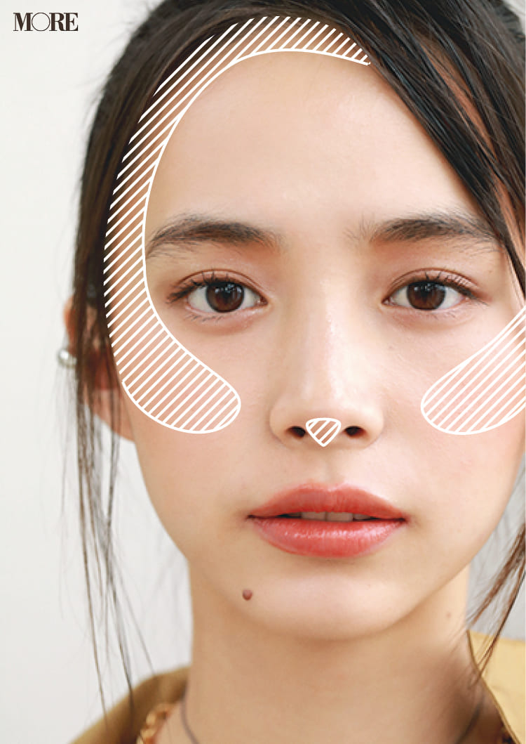 チークの入れ方【2020最新】- 顔型別の塗り方、リップと合わせる春の旬顔メイク方法まとめ_28