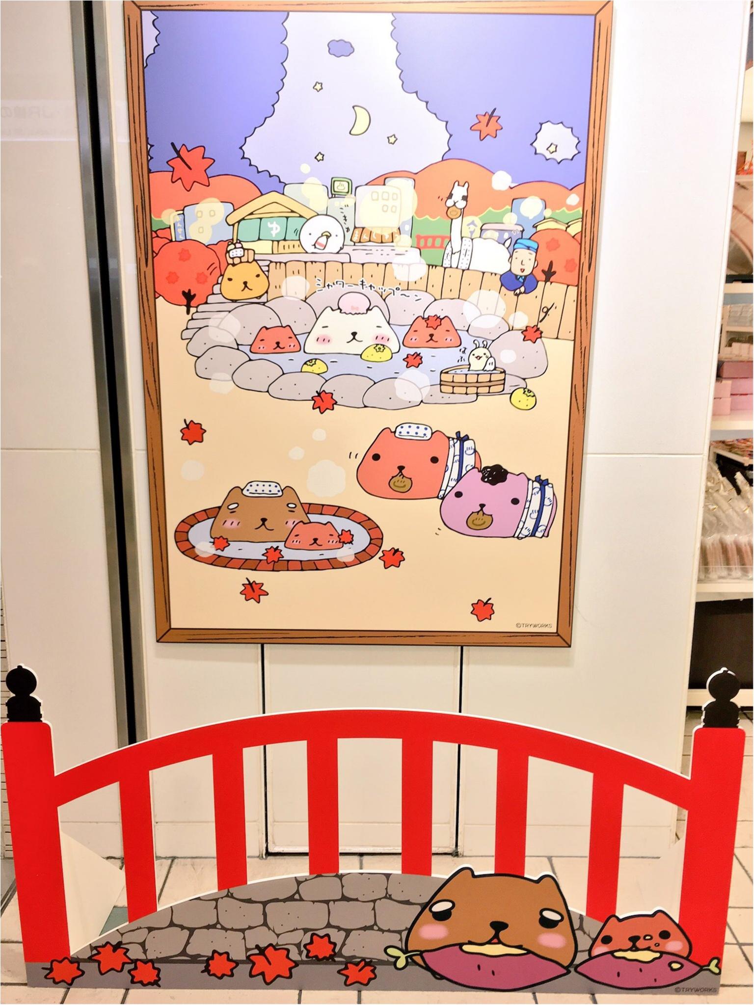 『カピバラさん×東京駅』作者チダケイコ先生サイン会&Calbeeプラスに行ってきました(*´ ˘ `*)♡_4