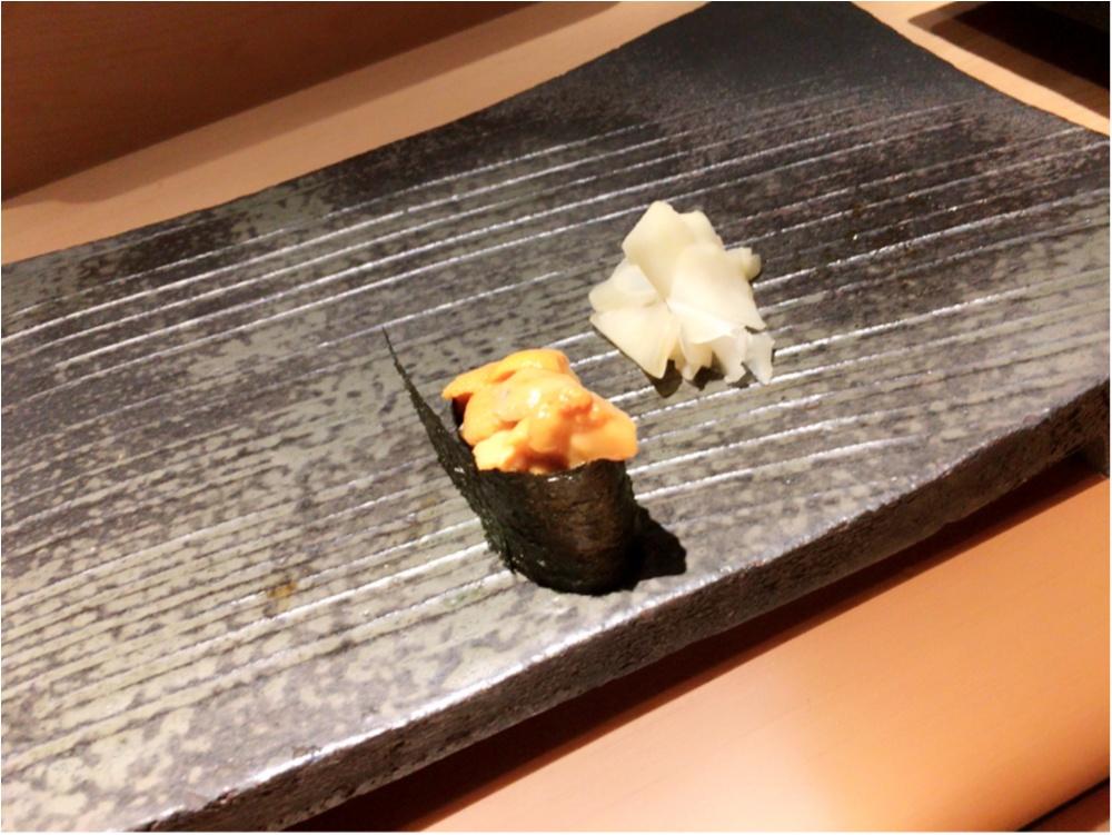 こんなのはじめて♡西麻布のお寿司屋さんに行ってきたよ♡_4