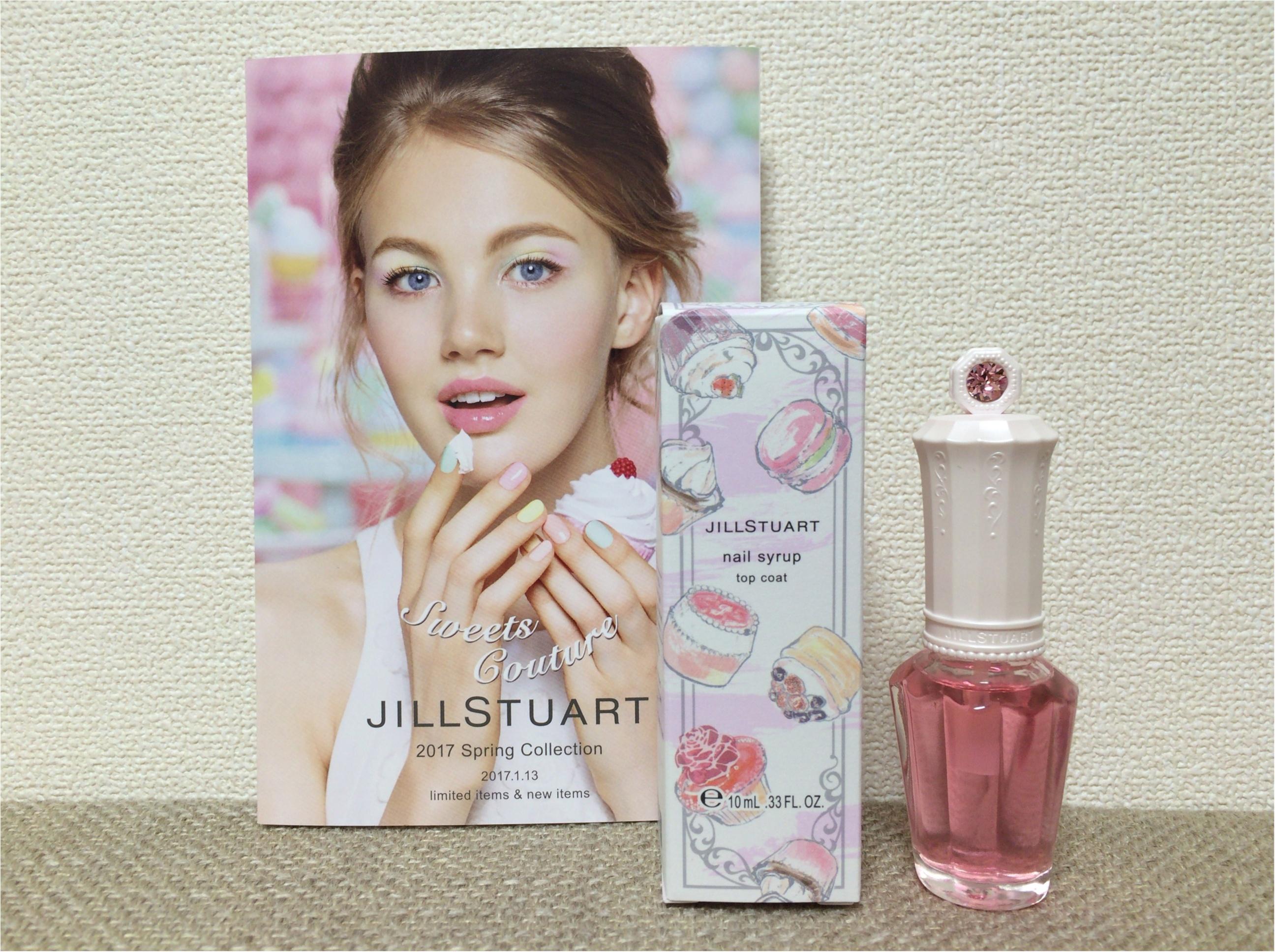 【ジル春コレ】まるで、ストロベリーシロップ♡なピンクが可愛すぎ!限定《トップコート》_1