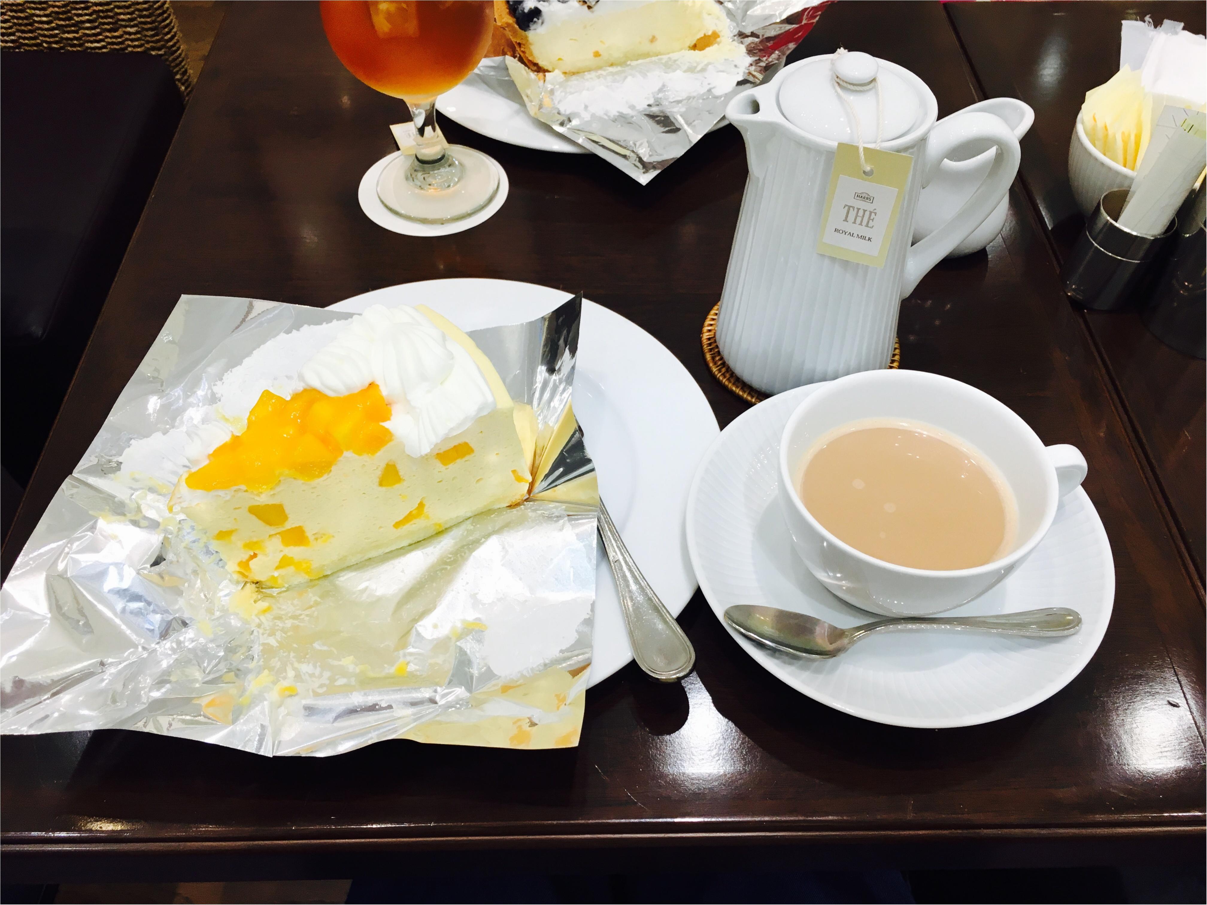 HARBSのアップルマンゴーケーキ♡_2