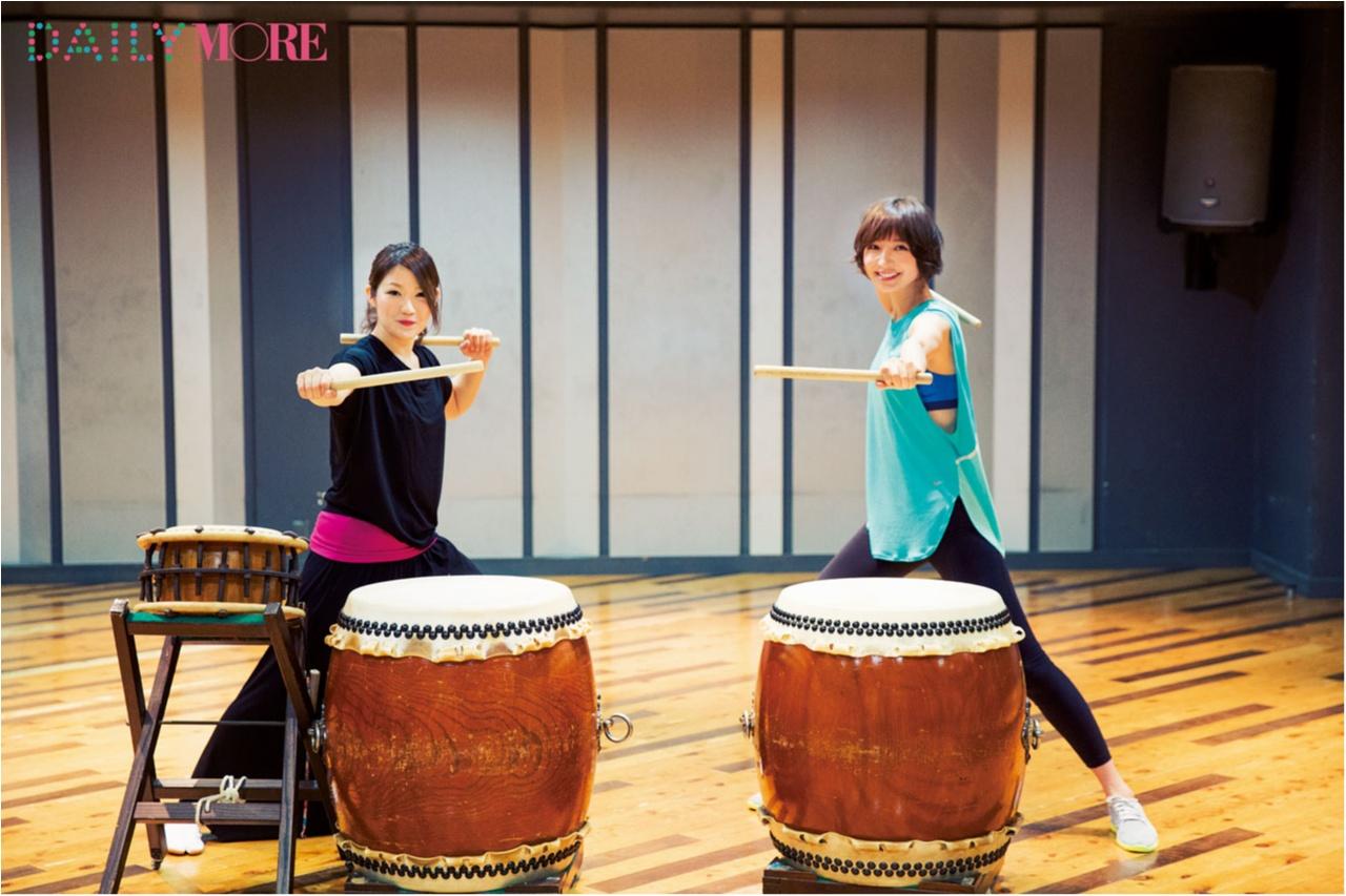 篠田麻里子と学ぶ、今話題の「和太鼓レッスン」の楽しみ方【麻里子の「和」コトハジメ】_1