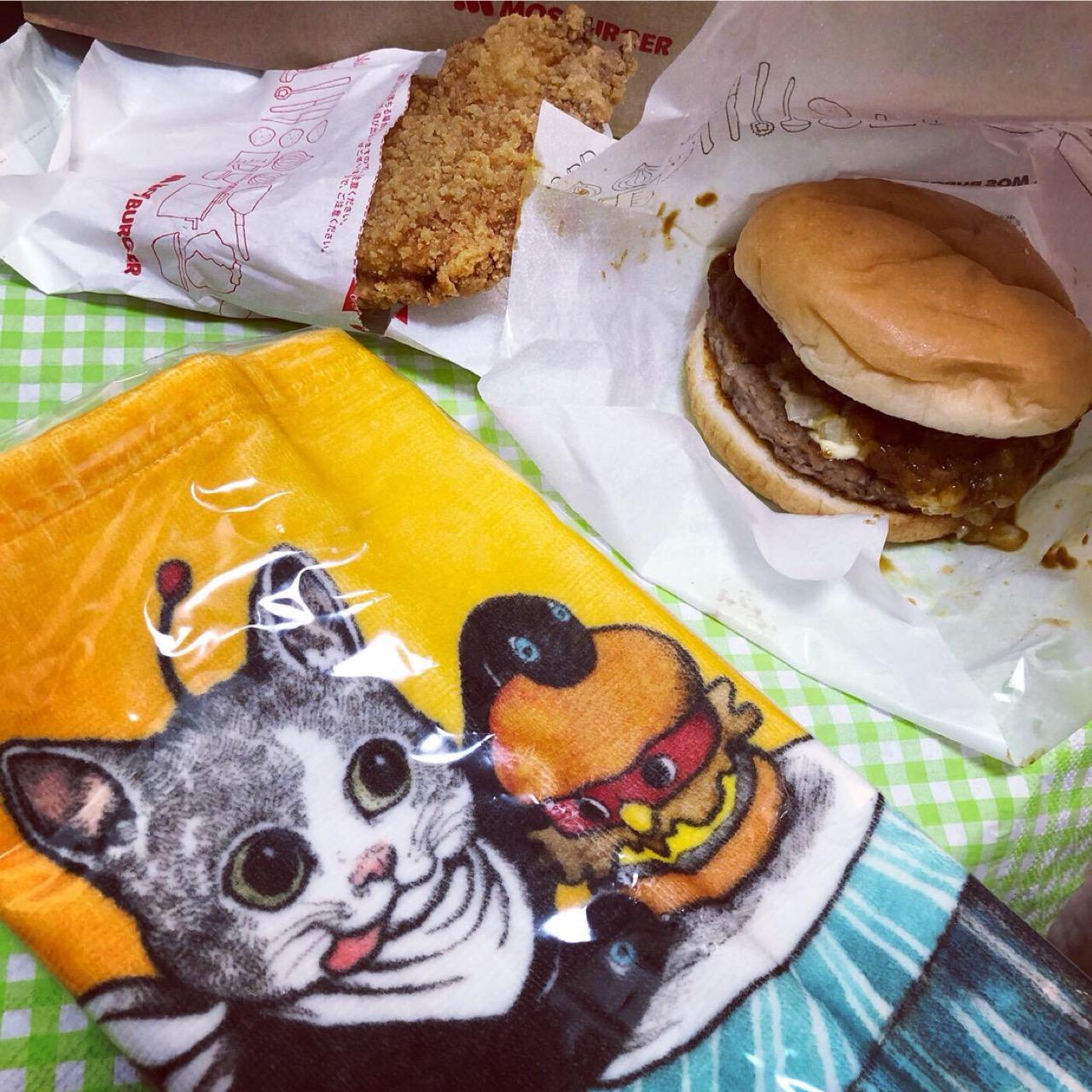 ギュスターヴくんがかわいすぎる♡「ヒグチユウコ オリジナルタオル」がもらえる!スペシャルセットがモスバーガーで限定販売中!♡_1