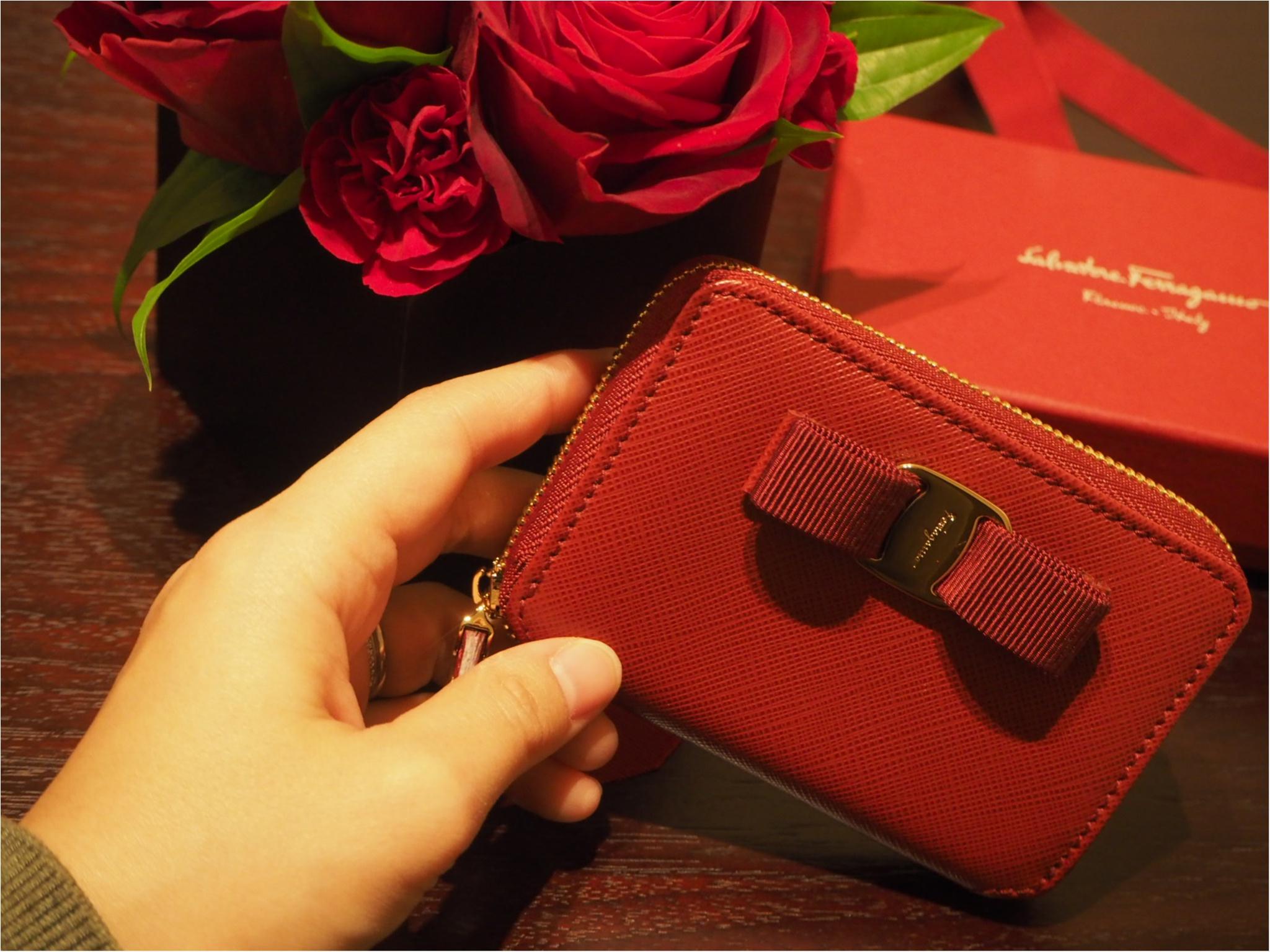 自分へのご褒美は「Salvtore Ferragamo(サルヴァトーレフェラガモ)」のミニ財布をお迎えしました!_2