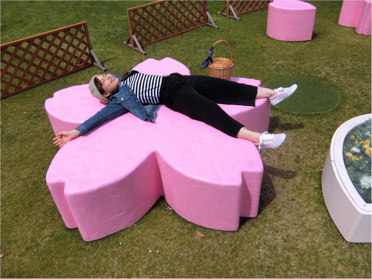 【可愛いフォトスポットも☆】六本木・東京ミッドタウンでお花見してきました!_4