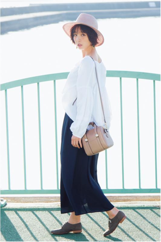 【2月に買って4月までずっと着る!】篠田麻里子のブラウス着まわし×3_1
