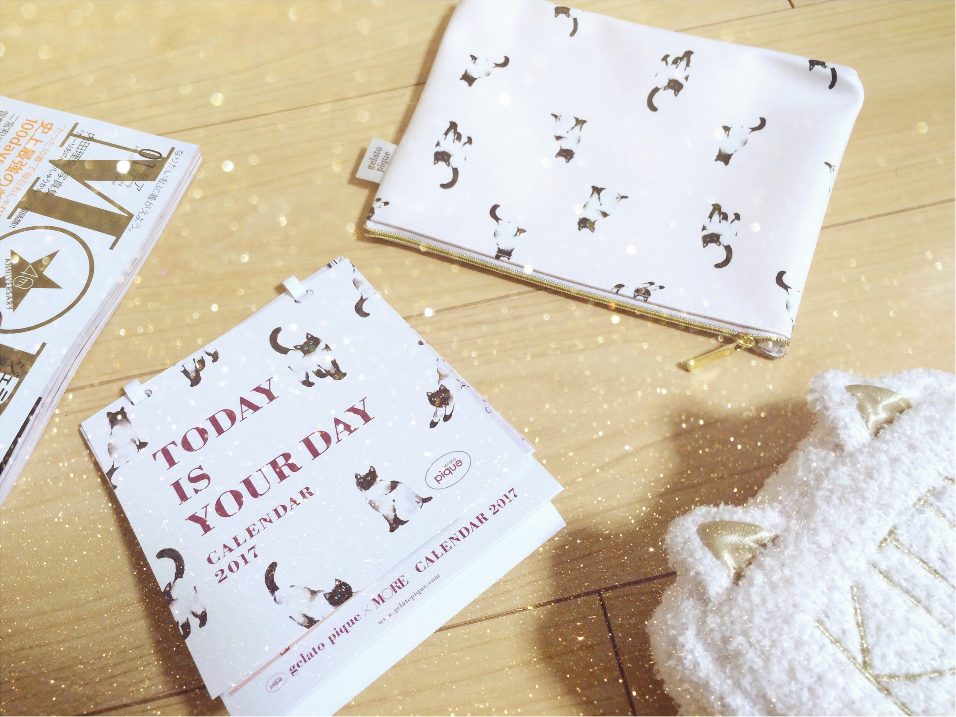最新号付録で話題のネコちゃん♡gelato piqué《キャットティッシュケース》可愛すぎかよ。_2