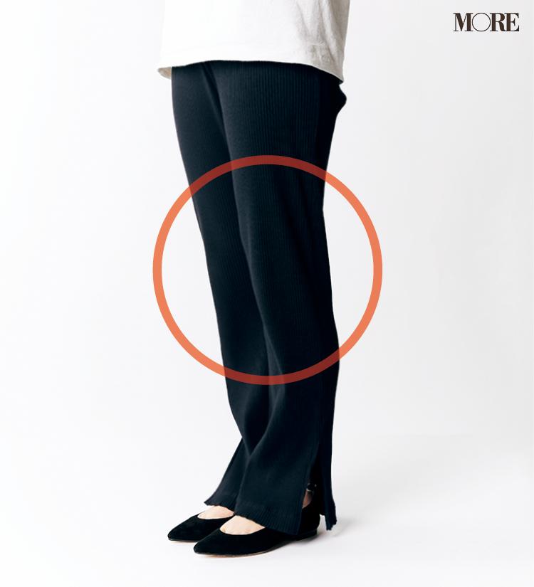 テーパードパンツ&フレアパンツ、どの靴と合わせるのがいちばんきれい? 全部の相性比べてみました!_6_4