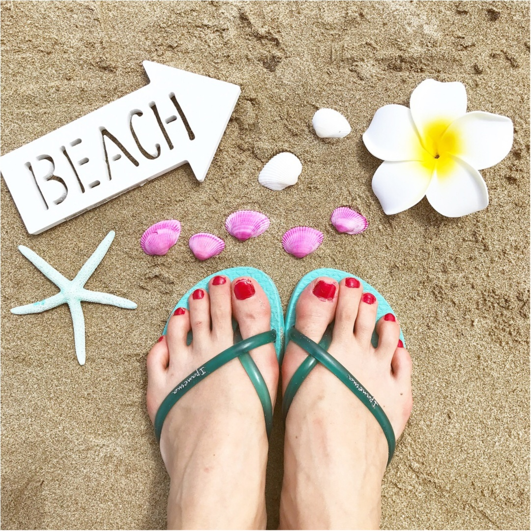 【ITEM】フォトジェニ写真♡!100円ショップのアイテムで、BEACHの写真をもっと可愛く♡PART1_1