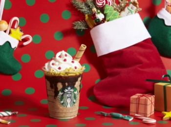 【スタバ 新作】クリスマス2019第3弾♡「サンタブーツ チョコレート フラペチーノ」が楽しみすぎ!