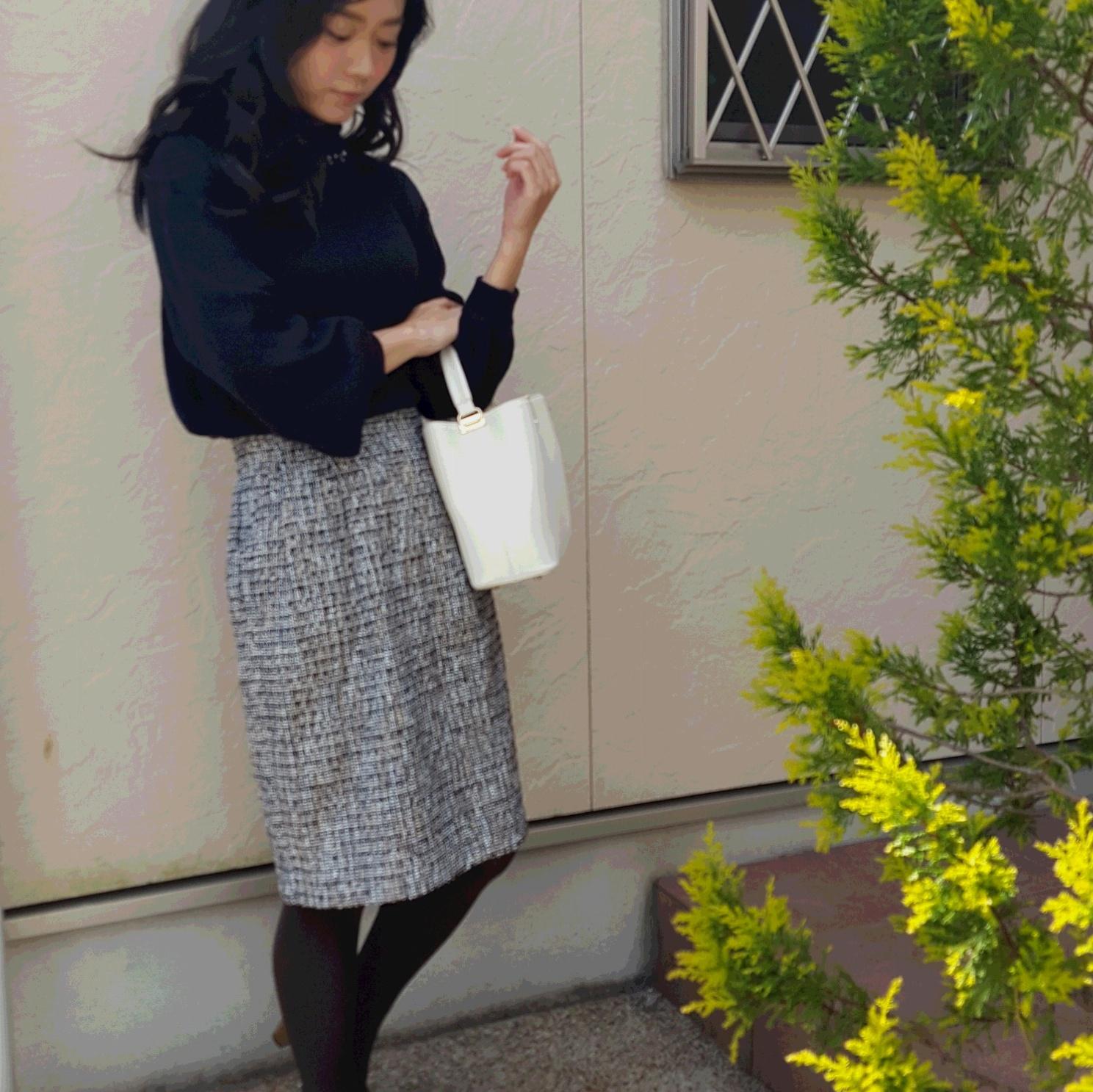 ViSで見つけた! 春まで着回せる通勤・オフィス服♡_5