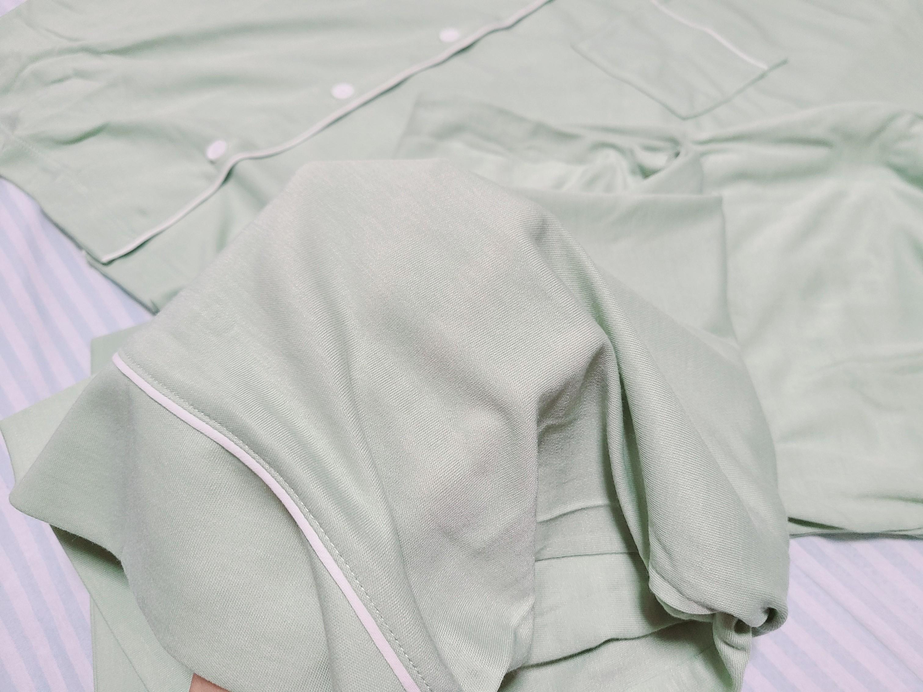 【GU×SABONコラボ第2弾】8/24発売!アロエパジャマがかわいいだけじゃない!しっとり質感でうっとり❤️_6